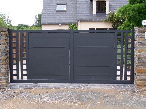Fabricant portails et portillons en acier sur Nantes et Angers