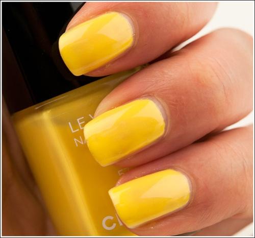 Yellow: Sunshine Yellow, Chanel Mimosas, Yellow Nails, Polish Colors, Mellow Yellow, Nails Polish, Hello Yellow, Summer Colors, Colors Yellow