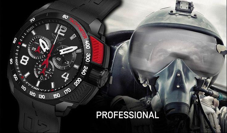 """""""Professional"""" serisi kalın eldivenlerle dahi kronografi kullanmanıza uygundur.#aviatorturkey #lahorasaat"""