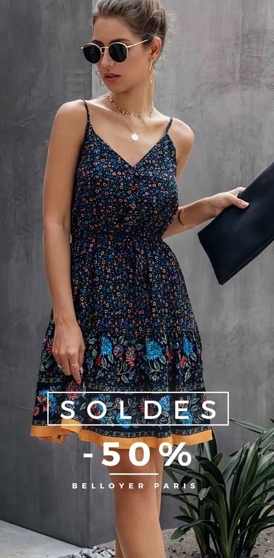 Soldes 50 En 2020 Idees Vestimentaires Robe Idees De Mode