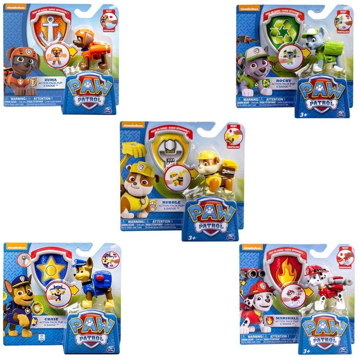 Paw Patrol Pup with Transforming Backpack - Assorted | ToysRUs BabiesRUs