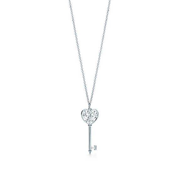 Medium Tiffany Enchant Heart Key Pendant   Tiffany & Co.