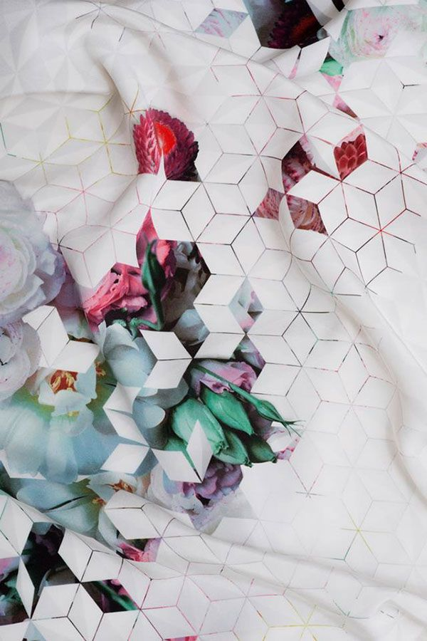 Koonhor Textile Design SS 13 on Behance, Geometry #pattterns