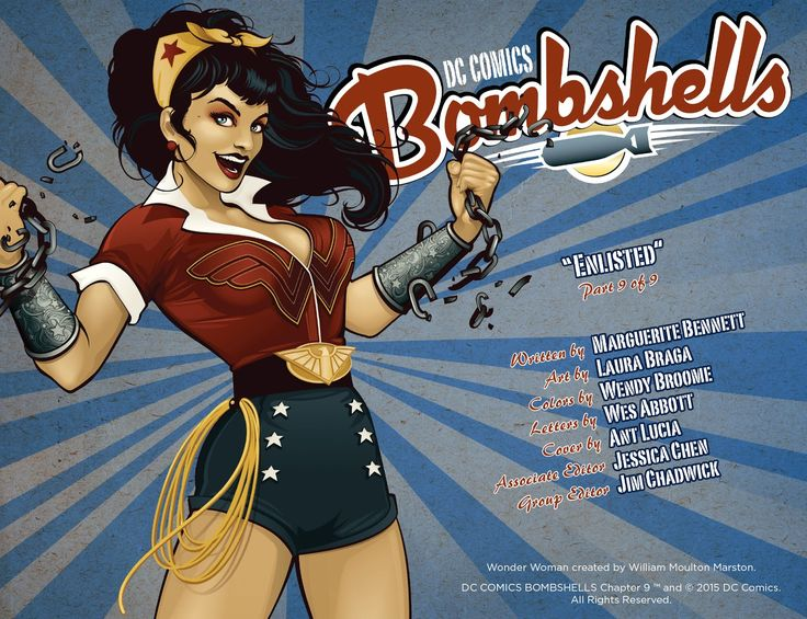 DC Comics: Bombshells     Issue #9     - Read     DC Comics: Bombshells     Issue #9     comic online in high quality