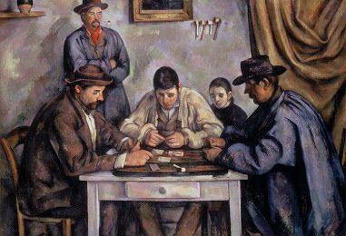 Cézanne Los jugadores de cartas