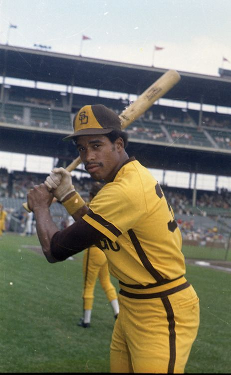 Dave Winfield made his MLB debut in 1973 with the San Diego Padres and stayed with the team until 1980. He was inducted to the Baseball Hall of Fame in 2001.