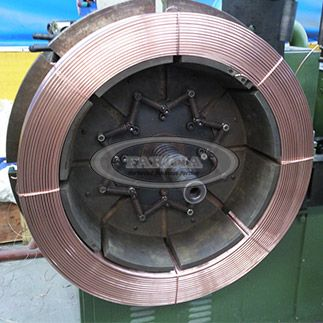 Submerged Arc Welding Wire Submerged Arc Welding Wire of Carbon Steel and Low-alloy Steel Features:stable electric arc,low splashing, high deposition.