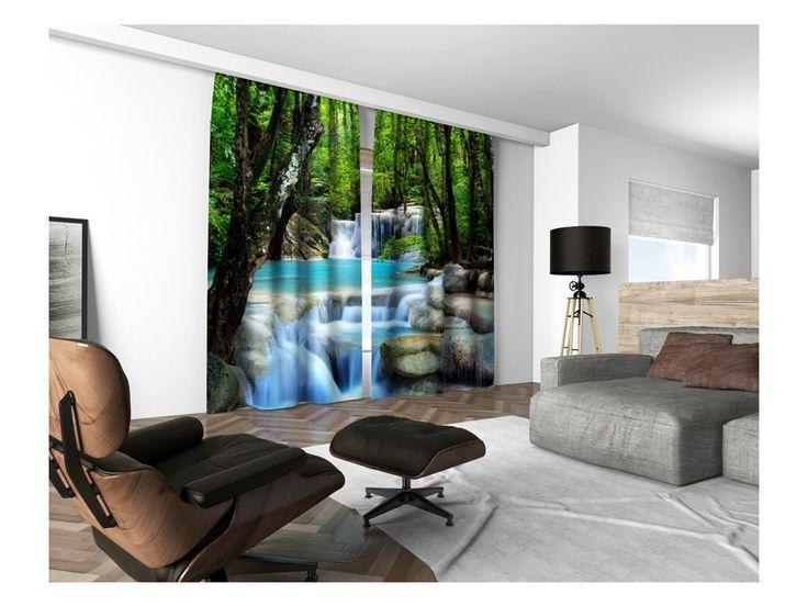 Dekorační 3D závěsy inspirované nejnovějšími trendy ze světa bytové módy jsou vhodné do ložnice nebo obývacího pokoje jako ideální a praktický doplněk Vašeho bytu. Závěsy jsou vyráběny v rozměru 160x250 cm. 3D závěsy jsou ideální pro zavěšení na...