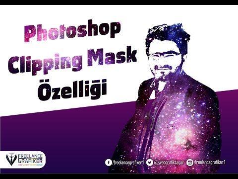 Photoshop Treshold ve Clipping Mask Özelliği Ders 1 - YouTube
