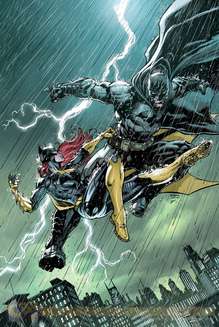 Batman and Batgirl by Jason Fabok *