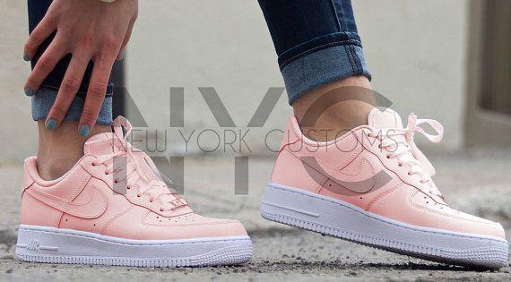 nike air force women pink
