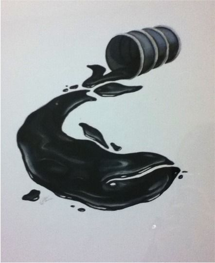 No more oil spills - no drilling in the Arctic!     Thanks to Live for the creativity.    www.savethearctic.org