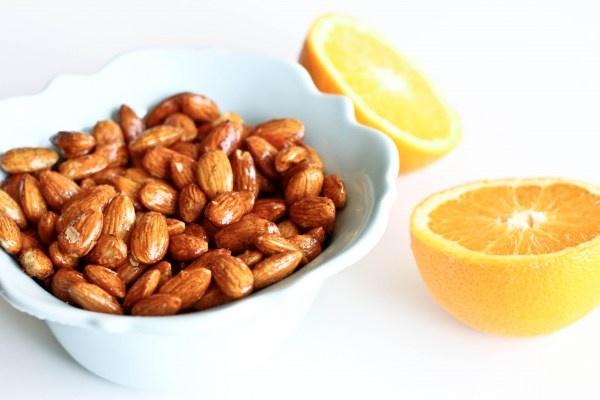 Orange Vanilla Spice Almonds
