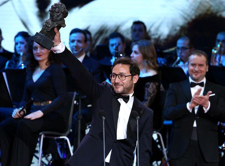 Carlos Santos ha recibido el Goya como mejor actor revelación.