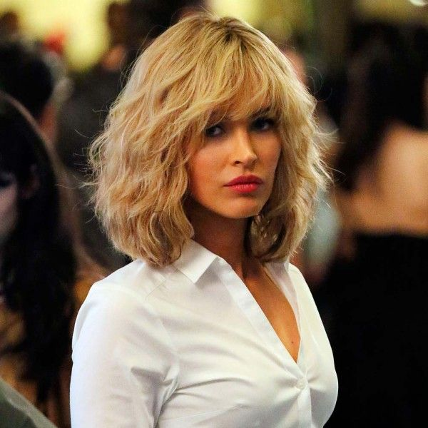 Megan Fox With A Blonde Choppy Bob
