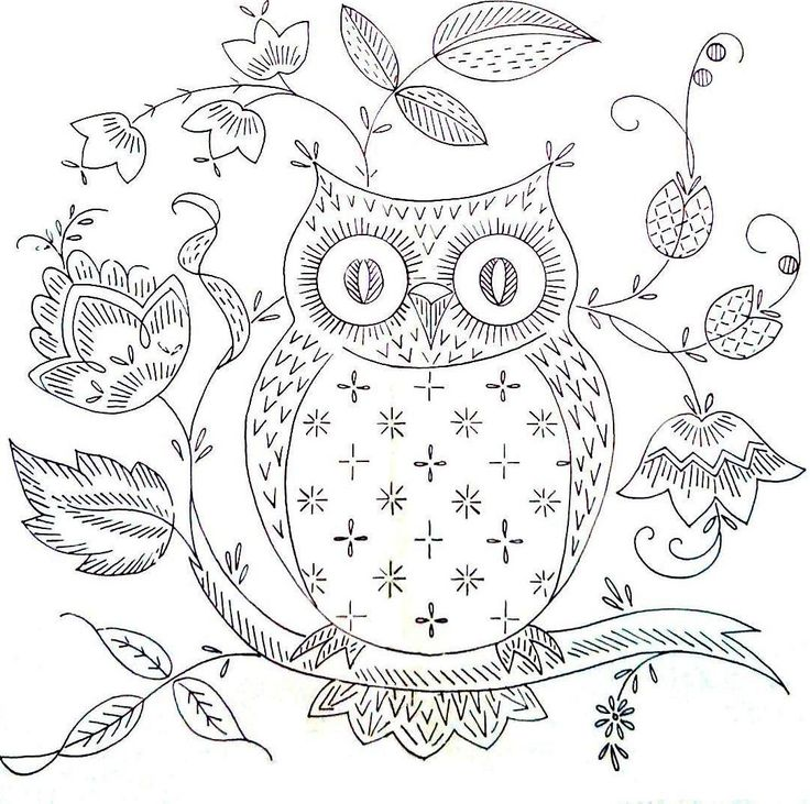 Stitchy Britches: Owl love you pattern.