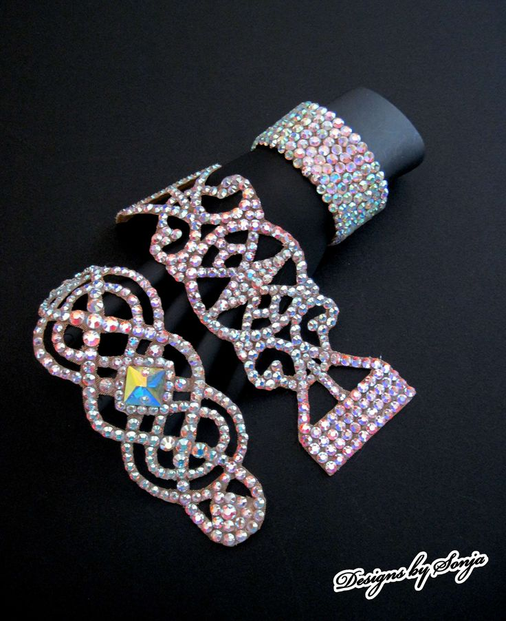 Ballroom jewelry, dancesport accessories, original Swarovski Crystal bracelets designed and created by Sonja Ballin. All Jewelry Designs copyright ©2014, Sonja Ballin of Tampa Bay, Florida.  www.sonjadesigns.com Check us out  (and like) on Facebook:  https://www.facebook.com/pages/Designs-By-Sonja/220737151285770