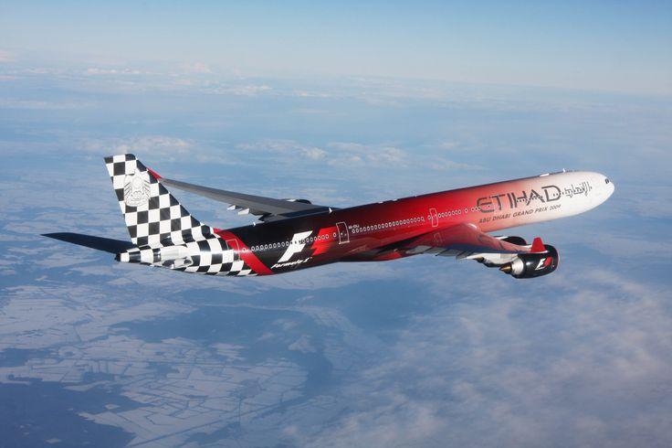 Eithad Airways : plane designed for F1