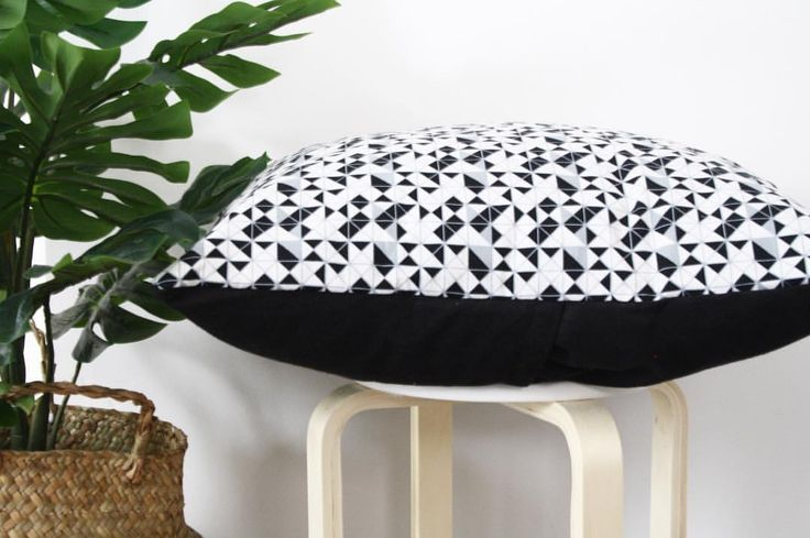 "109 Likes, 1 Comments - Whitewick Home (@white_wick) on Instagram: ""pillow talk! #whitewick #home #grey #black #pillow #pillows #Scandinavian #design #decor…"""