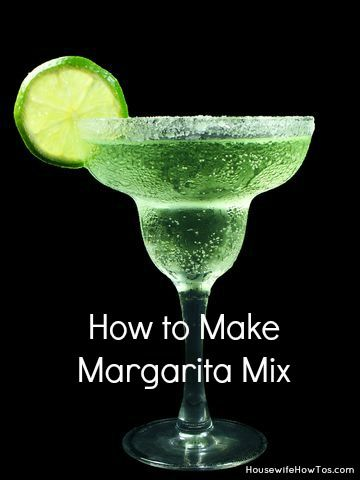 Homemade Margarita Mix Recipe - Housewife How To's