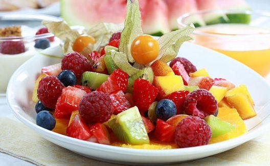 Диетические фруктовые салаты рецепты