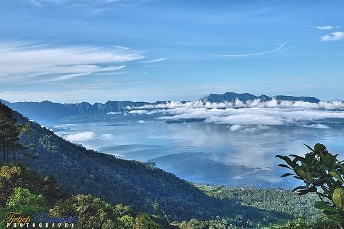 Maninjau Lake, West Sumatra, Indonesia