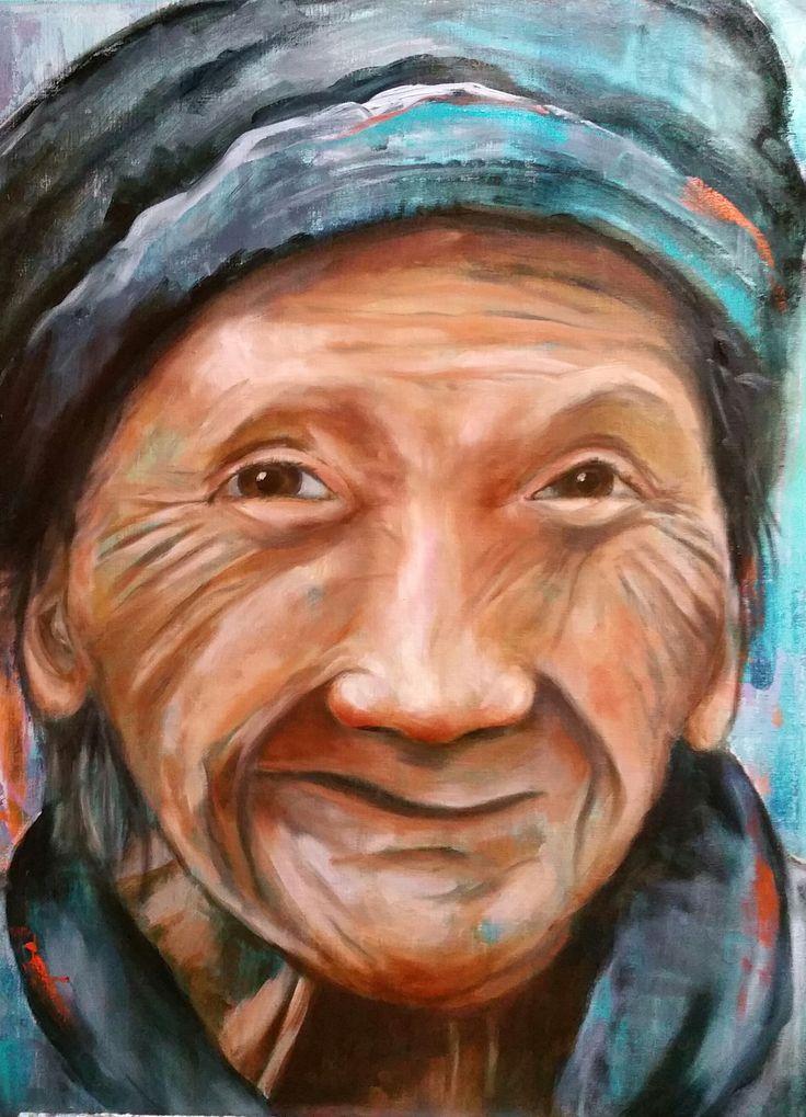 25 beste idee n over vrouw gezicht op pinterest vrouwelijk gezicht gezicht fotografie en - Schilderij ingang en gang ...