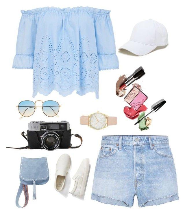 """Beach Fashion Women"" by saffaatun on Polyvore featuring GRLFRND, Gap, Sole Society, Nine West, Steve Madden, men's fashion and menswear"