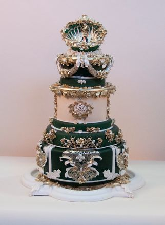 Vivian Pham 2013 OSSAS Cake. Took around 300 hours to make. And people wonder why cakes cost so much...