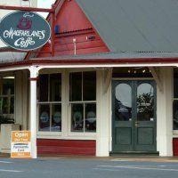Macfarlane's Caffe, Inglewood NZ. Good food and coffee.
