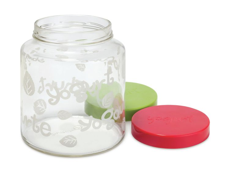 2 qt glass jar with lid