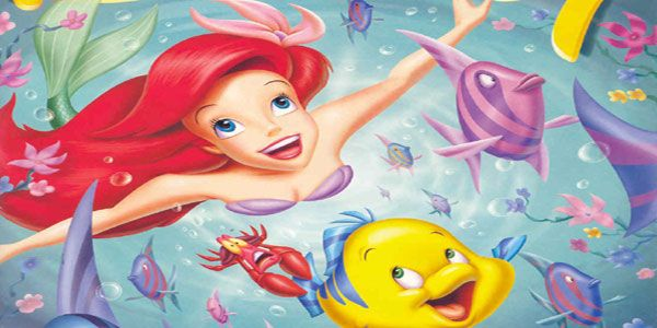 Disegni della Sirenetta Ariel da stampare e colorare
