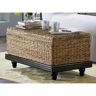 Seagrass Trunk As A Bench Coffee Table For The Home Pinterest