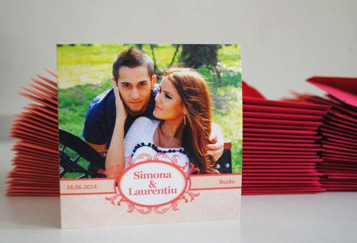 Pont: Invitatii nunta personalizate cu poza