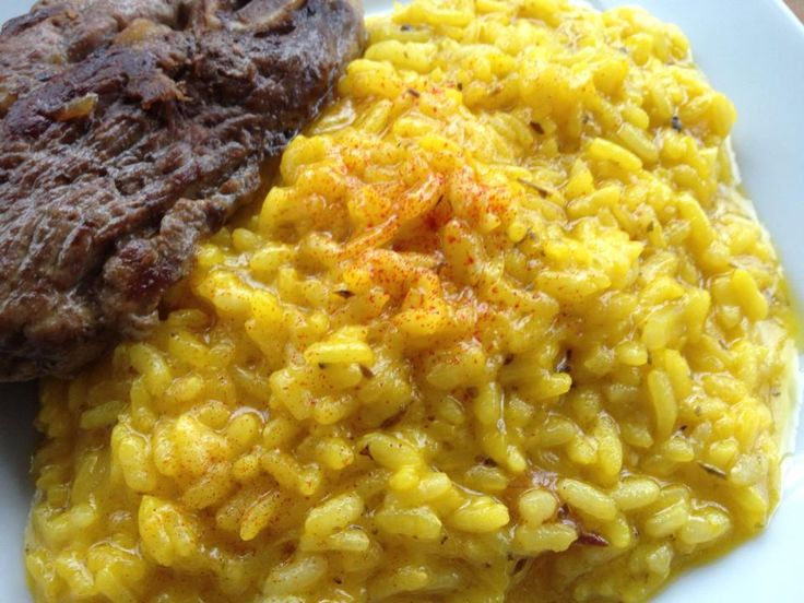 Risotto alla milanese | my dishes | Pinterest