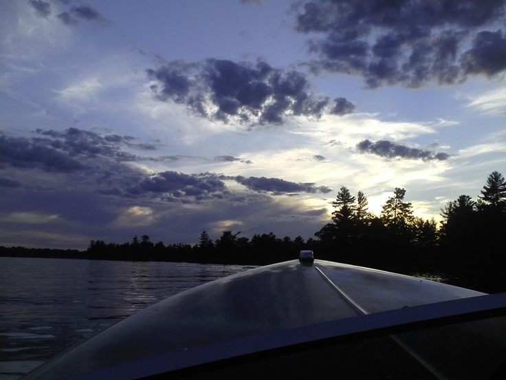 Summer boat cruise