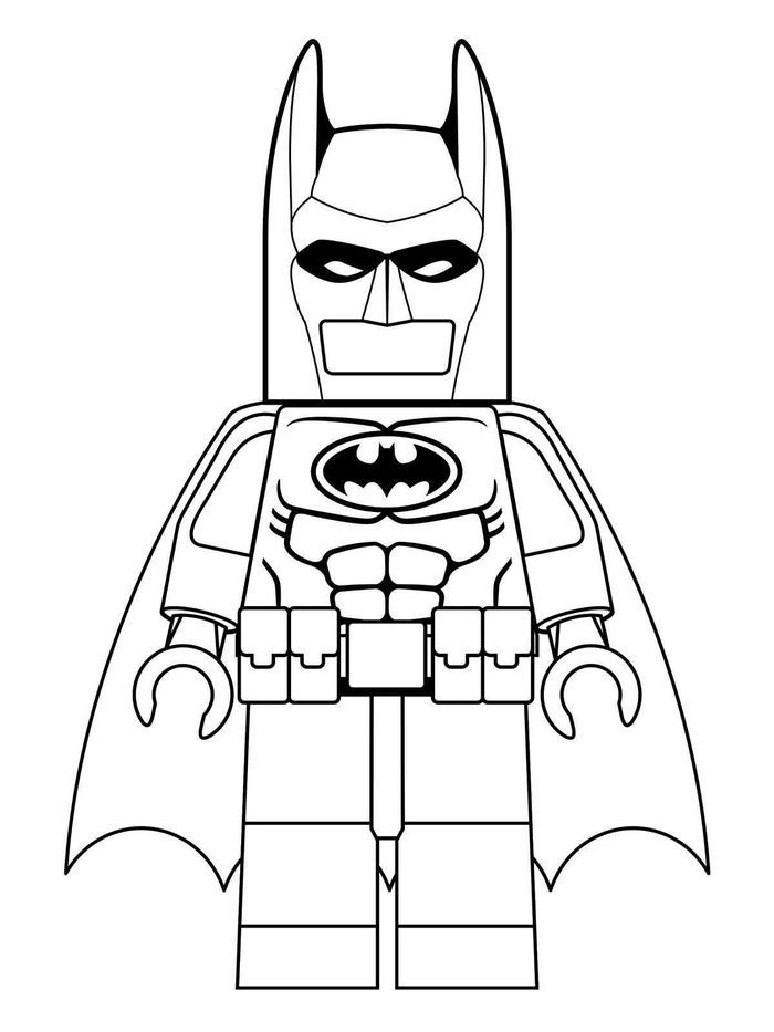 batman lego coloring pages from lego