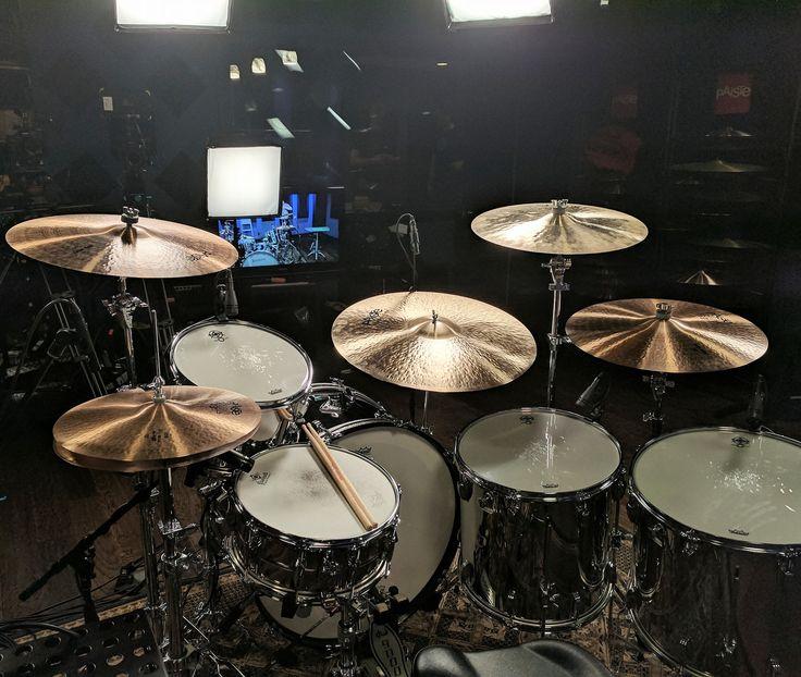John Bonham memorial kit by Ludwig Drums and Ronn Dunnett