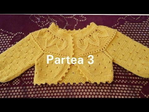 Bolero tricotat. Partea 3 Болеро спицами. - YouTube