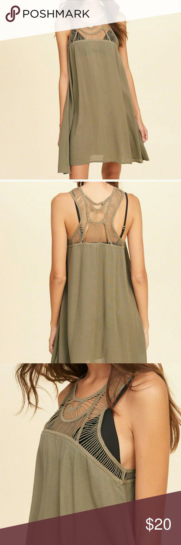 Hollister Swimsuit Cover Up Dress, Size L New with tag Smoke free pet free  Ships same business day Hollister Swim Coverups