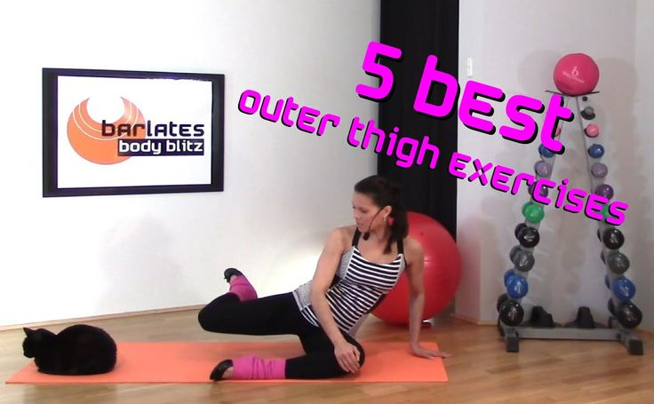 FREE Barre Thigh Workout - 5 Best Outer Thigh Exercises BARLATES BODY BLITZ