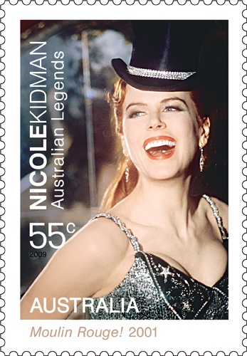 In 2001, we celebrated Nicole Kidman's perfomance in Moulin Rouge. Who is your ultimate favourite Aussie actor?  #stamps 2001