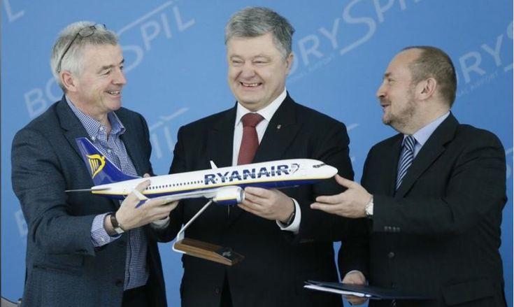 RYANAIR intră pe piața din Ucraina și va zbura de la Kiev și Lviv