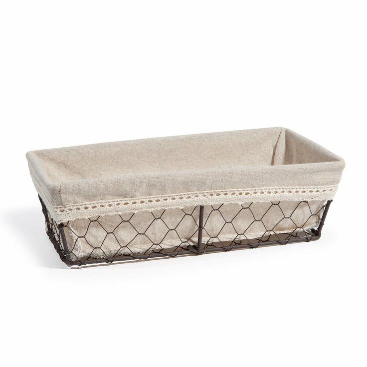 Bric-à-Brac rectangular basket