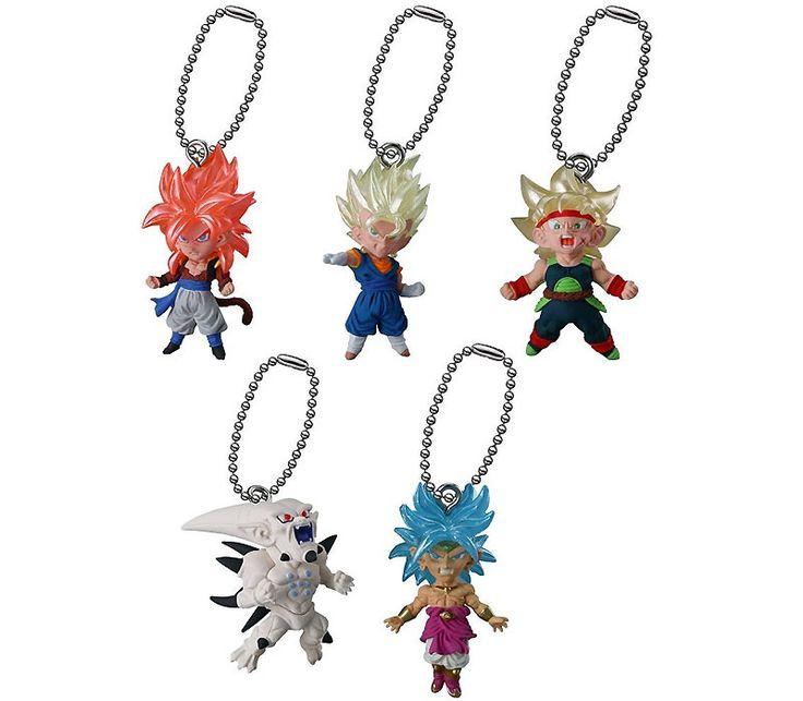 Dragon Ball UDM The Best 13 Keychain Swing Collection  #bardock #broly #dragonball #gogeta #keychain #omegashenron #vegeto