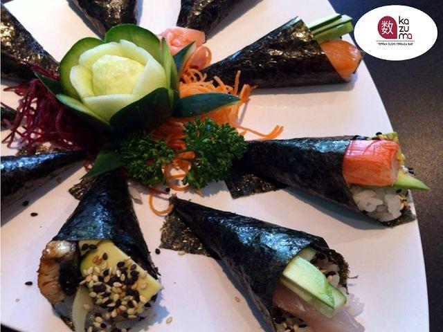 LA MEJOR COMIDA JAPONESA EN POLANCO En Restaurante Kazuma, le invitamos a disfrutar de nuestros suculentos MICROCHIPS, unos deliciosos conitos rellenos con pulpo, cangrejo, róbalo, anguila, atún, hueva de pescado o camarón. ¡Son una combinación que no puede dejar de probar! Visítenos en Julio Verne #38 Colonia Polanco. #restaurantekazuma