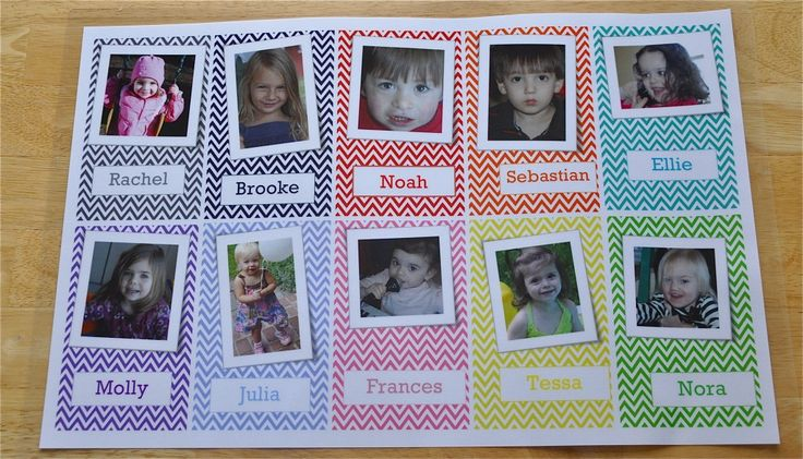 great reinforcement for teaching the kids, or a memory page for grandma