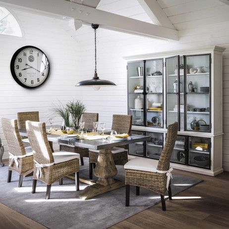 table long island maison du monde good find this pin and more on maisons du monde with table. Black Bedroom Furniture Sets. Home Design Ideas