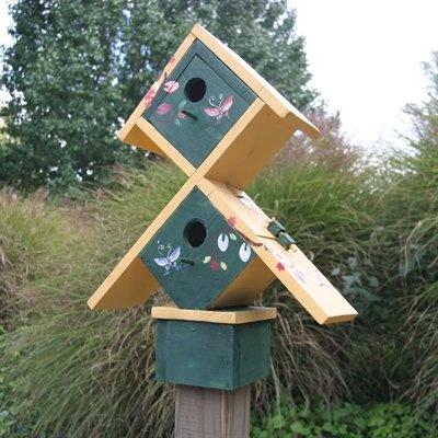 Love it: Series Wsbh182, Inn Birds, Birds Birdhouses, Sunshine Inn, Housesgoard Deco, Birds Houses Goard, Outdoor Gardens, Bird Houses, Birds Housesgoard