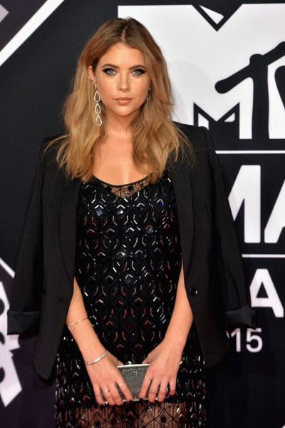 Ashley attending the MTV EMA's 2015 at the Mediolanum Forum on October 25, 2015 in Milan, Italy.
